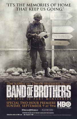 Band of Brothers - 11 x 17 Movie Poster - Style C