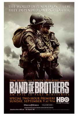 Band of Brothers - 27 x 40 Movie Poster - Style C