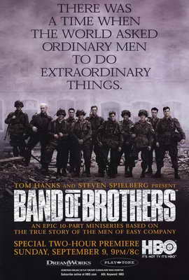 Band of Brothers - 27 x 40 Movie Poster - Style D