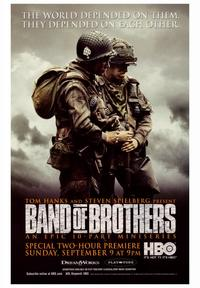 Band of Brothers - 43 x 62 Movie Poster - Bus Shelter Style A