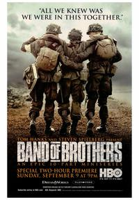 Band of Brothers - 43 x 62 Movie Poster - Bus Shelter Style B