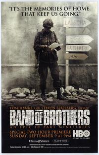 Band of Brothers - 43 x 62 Movie Poster - Bus Shelter Style C