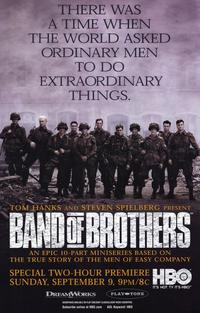 Band of Brothers - 11 x 17 Movie Poster - Style B - Museum Wrapped Canvas