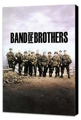 Band of Brothers - 11 x 17 Movie Poster - Style I - Museum Wrapped Canvas