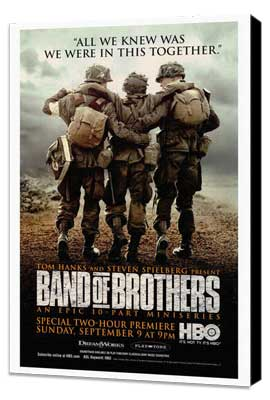 Band of Brothers - 27 x 40 Movie Poster - Style B - Museum Wrapped Canvas
