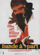 Band of Outsiders - 11 x 17 Movie Poster - French Style B