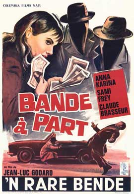 Band of Outsiders - 11 x 17 Movie Poster - Belgian Style A