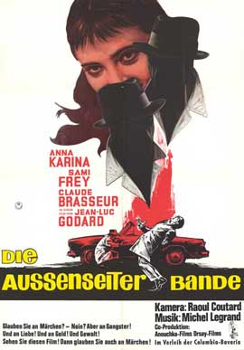 Band of Outsiders - 11 x 17 Movie Poster - German Style A