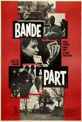 Band of Outsiders - 27 x 40 Movie Poster - French Style A