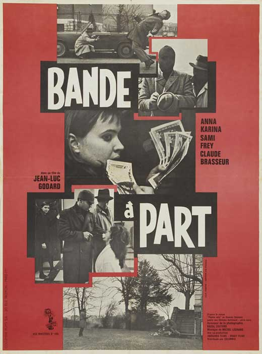 band of outsiders movie posters from movie poster shop. Black Bedroom Furniture Sets. Home Design Ideas
