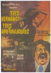 Banda de los tres crisantemos, La - 11 x 17 Movie Poster - Spanish Style A