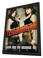 Bandidas - 27 x 40 Movie Poster - Style D - in Deluxe Wood Frame