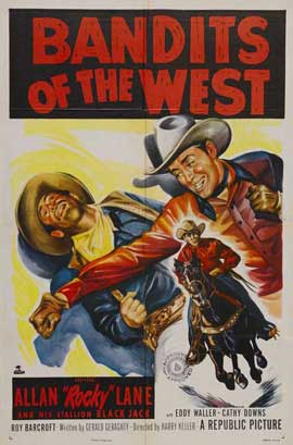Bandits of the West - 27 x 40 Movie Poster - Style A