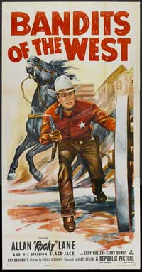 Bandits of the West - 20 x 40 Movie Poster - Style A