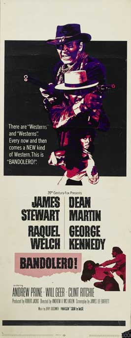 Bandolero! - 14 x 36 Movie Poster - Insert Style A