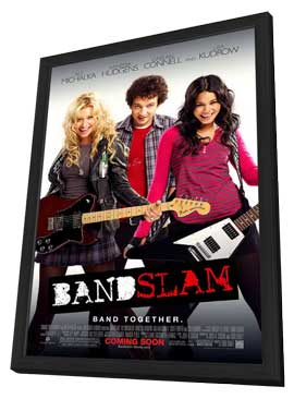 Bandslam - 11 x 17 Movie Poster - Style A - in Deluxe Wood Frame