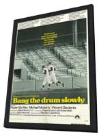 Bang the Drum Slowly - 11 x 17 Movie Poster - Style A - in Deluxe Wood Frame