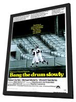 Bang the Drum Slowly - 27 x 40 Movie Poster - Style A - in Deluxe Wood Frame