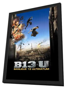 Banlieue 13 Ultimatum - 11 x 17 Movie Poster - French Style A - in Deluxe Wood Frame
