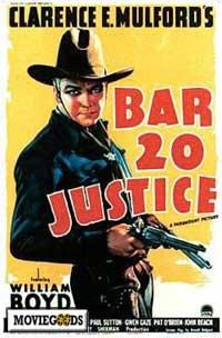 Bar 20 Justice - 11 x 17 Movie Poster - Style A
