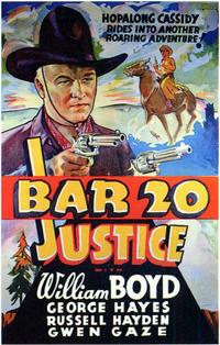Bar 20 Justice - 11 x 17 Movie Poster - Style B