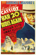 Bar 20 Rides Again - 27 x 40 Movie Poster - Style A