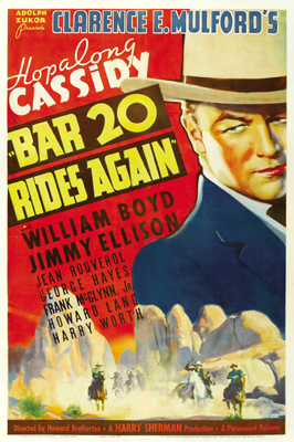 Bar 20 Rides Again - 11 x 17 Movie Poster - Style A