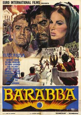 Barabbas - 11 x 17 Poster - Foreign - Style A