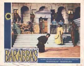 Barabbas - 11 x 14 Movie Poster - Style B