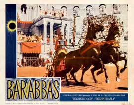 Barabbas - 11 x 14 Movie Poster - Style D