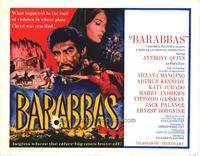 Barabbas - 22 x 28 Movie Poster - Half Sheet Style A