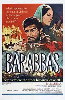 Barabbas - 11 x 17 Movie Poster - Style B