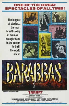 Barabbas - 11 x 17 Movie Poster - Style C