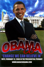 Barack Obama - (Primary) Campaign Poster 11 x 17