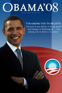 Barack Obama - Campaign Poster - 24 x 36 - Obama11