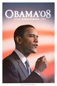 Barack Obama - (Obama Speech) Campaign Poster - 24 x 36