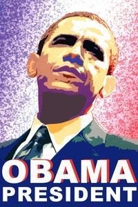 Barack Obama - (Obama President) Campaign Poster - 24 x 36