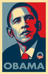 Barack Obama - RARE Campaign Poster - 24 x 36 Poster - OBAMA