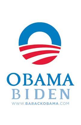 Barack Obama - (Obama Biden) Campaign Poster - 11 x 17