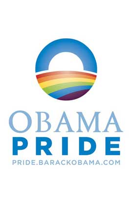 Barack Obama - (Obama Pride) Campaign Poster - 11 x 17