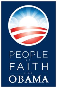 Barack Obama - (People of Faith for Obama) Campaign Poster - 11 x 17