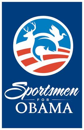 Barack Obama - (Sportsmen for Obama) Campaign Poster - 11 x 17