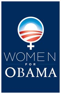 Barack Obama - (Women for Obama) Campaign Poster - 11 x 17