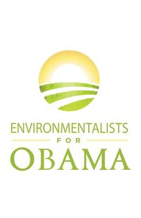 Barack Obama - (Environmentalists for Obama) Campaign Poster - 24 x 36
