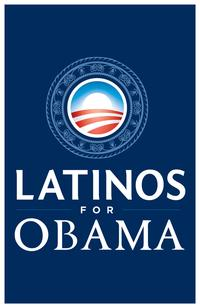 Barack Obama - (Latinos for Obama) Campaign Poster - 24 x 36