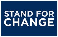 Barack Obama - (Stand for Change) Campaign Poster - 24 x 36