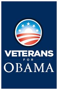 Barack Obama - (Veterans for Obama) Campaign Poster - 24 x 36