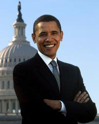 Barack Obama - 8 x 10 Portrait Photo - Style B