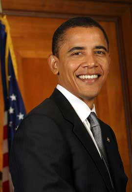 Barack Obama - 11 x 17 Portrait Photo - Style A