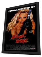 Barb Wire - 27 x 40 Movie Poster - Style A - in Deluxe Wood Frame